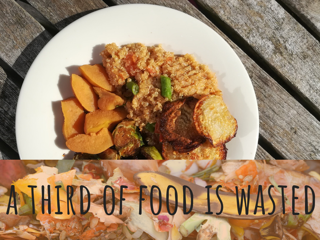 A third of food is wasted