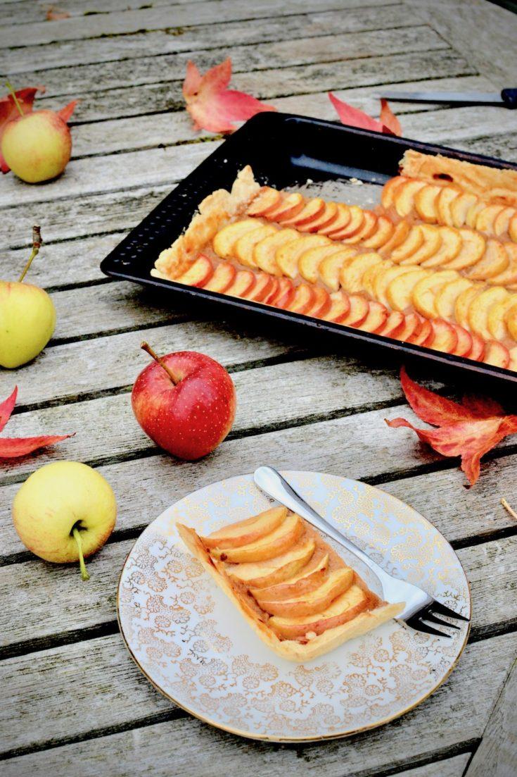 Vegan Apple Tart - Tarte Aux Pommes