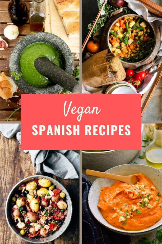 Vegan Spanish Recipes