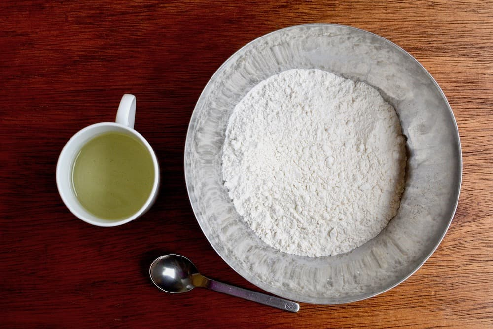 Strudel dough ingredients