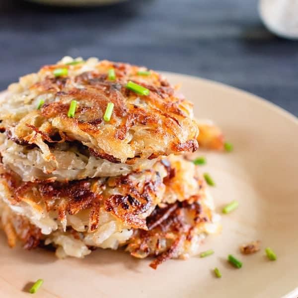 German Potato Pancakes – Kartoffelpuffer
