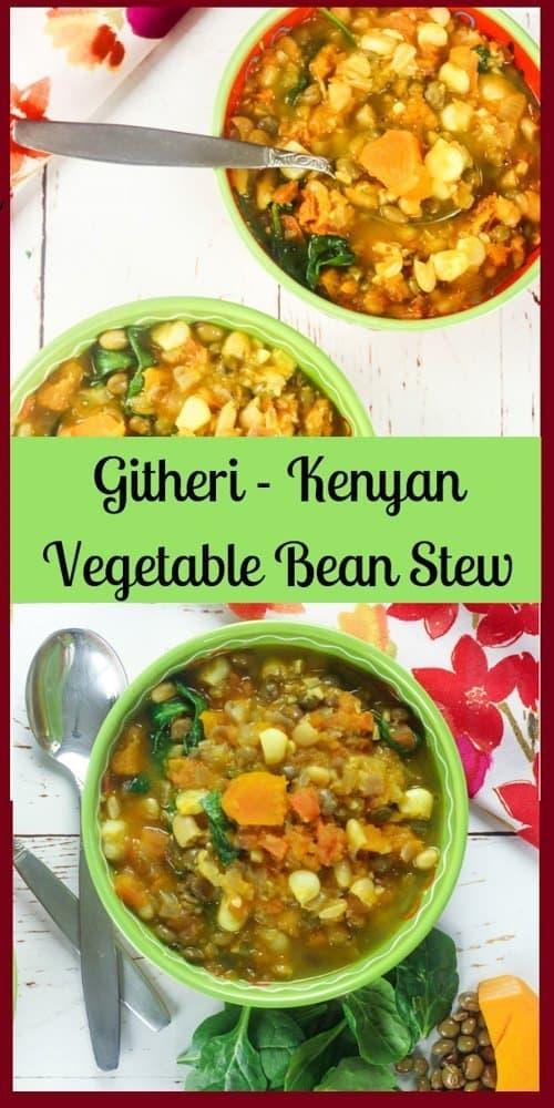 Githeri – Kenyan Vegetable Bean Stew
