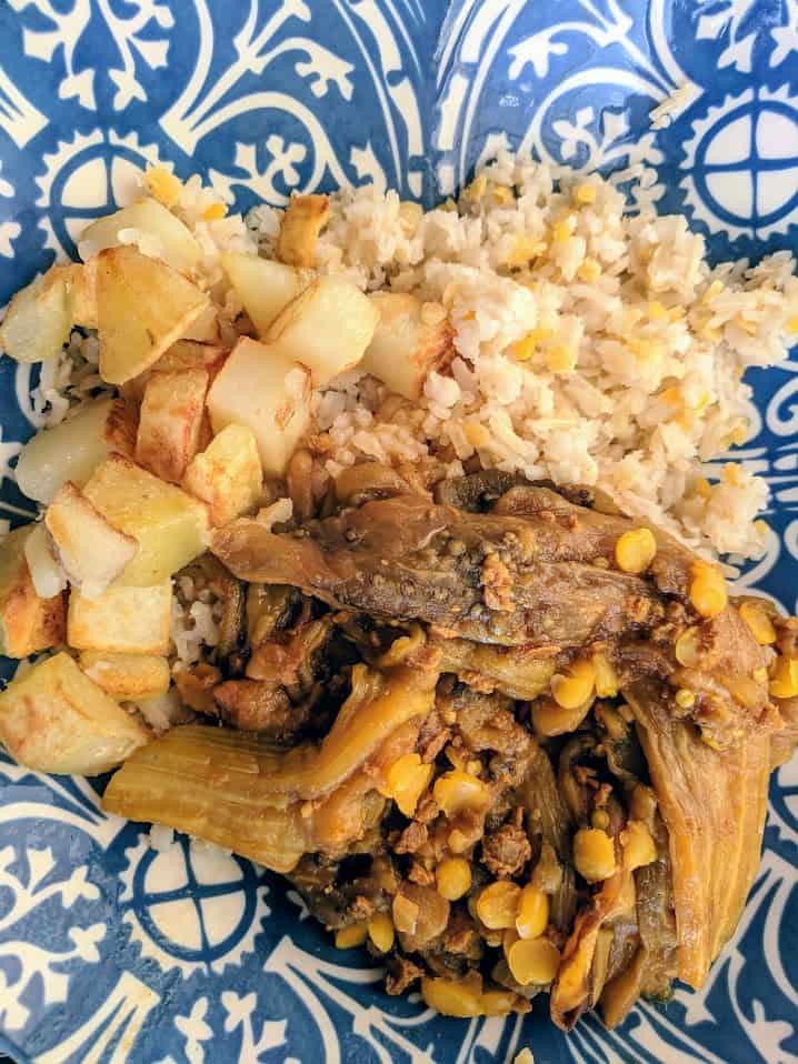 Khoresh Bademjan - Eggplant Stew