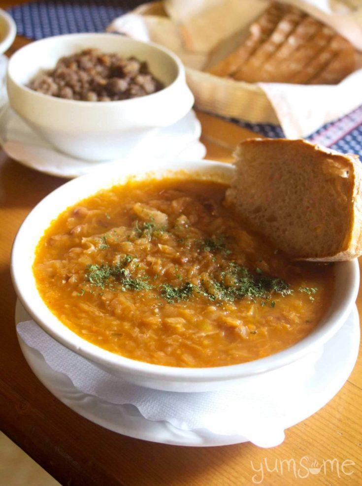 Vegan Jota - Slovenian Sauerkraut & Bean Stew