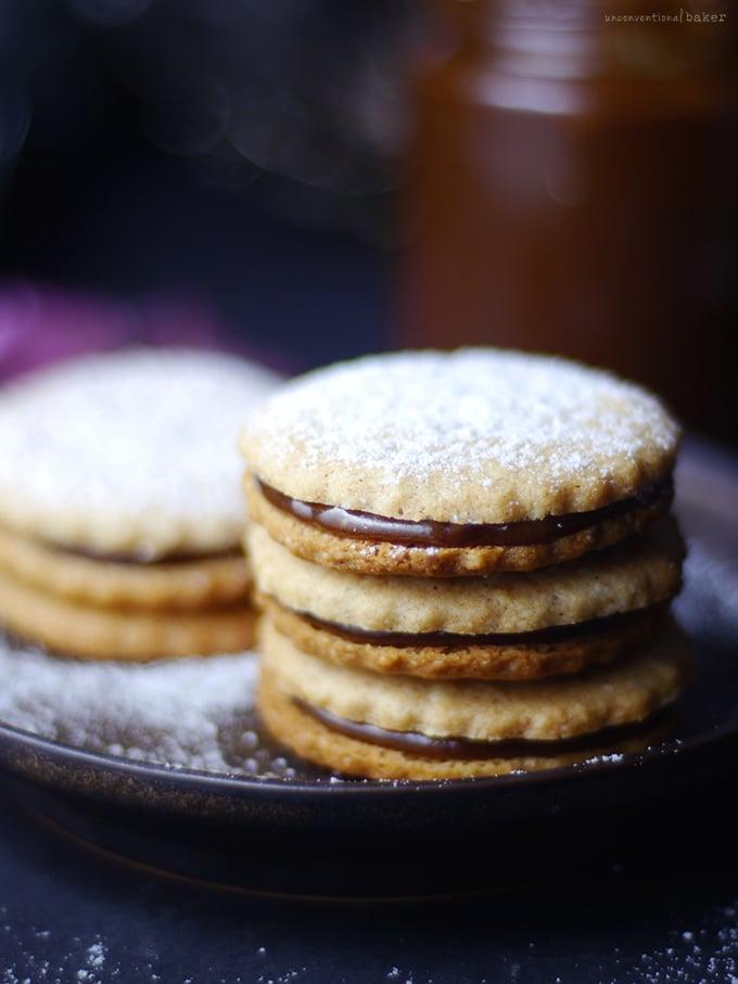 Alfajores - Caramel Sandwich Cookies