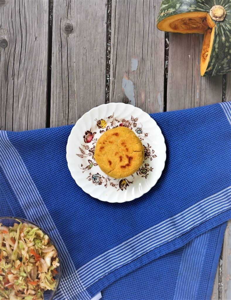 Kabocha Squash and Cheese Vegan Pupusas