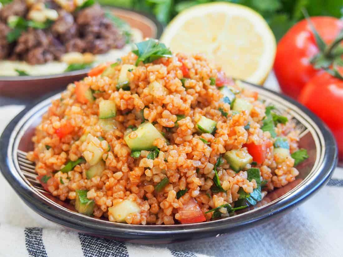 Kisir – Turkish bulgur salad