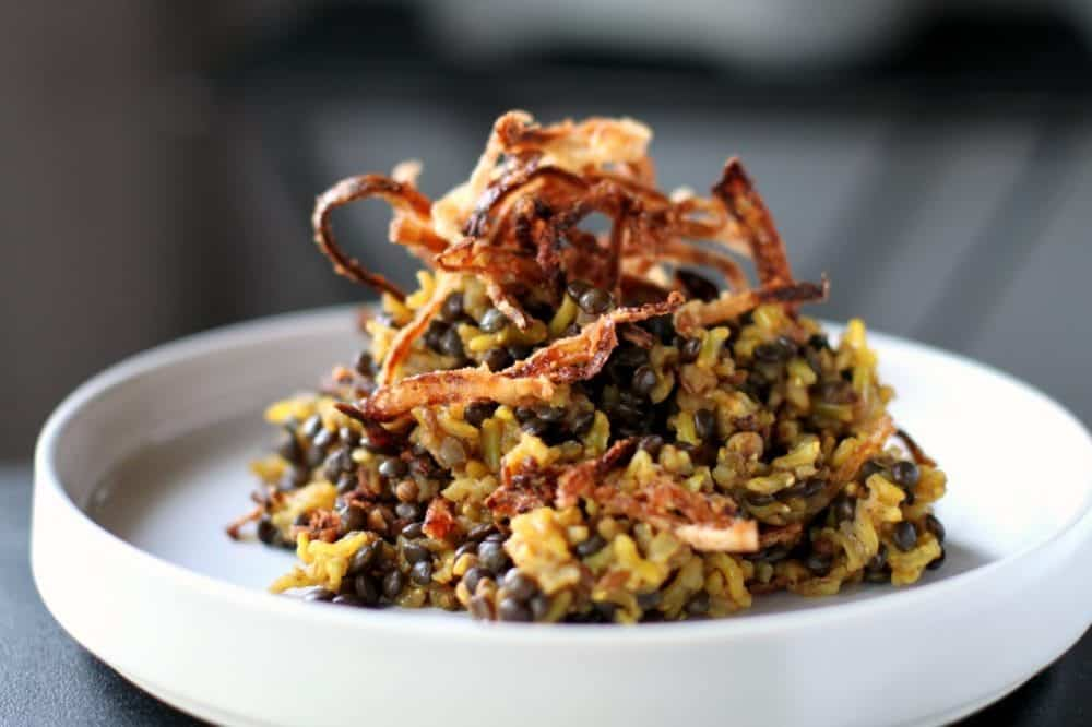 Mejadra - Ottolenghi Style Comfort Food